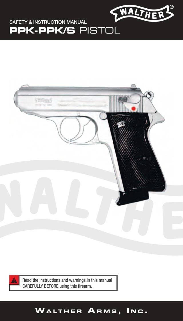 Walther PPK / PPKS – Manual