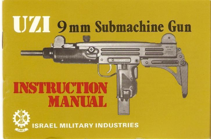 I M I  UZI 9mm Submachine Gun – Manual