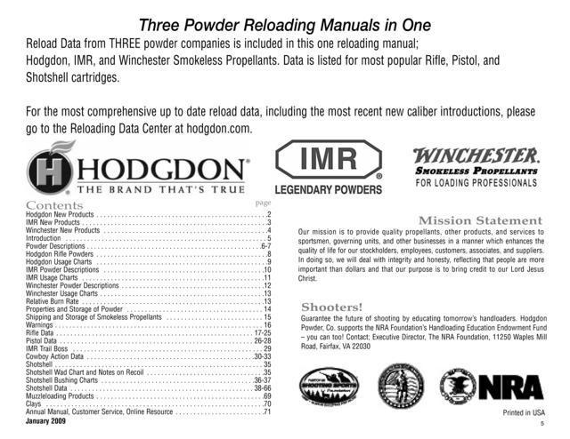 hodgdon basic reloading manual 2013 rh hodgdon basic reloading manual 2013 milesfiles de