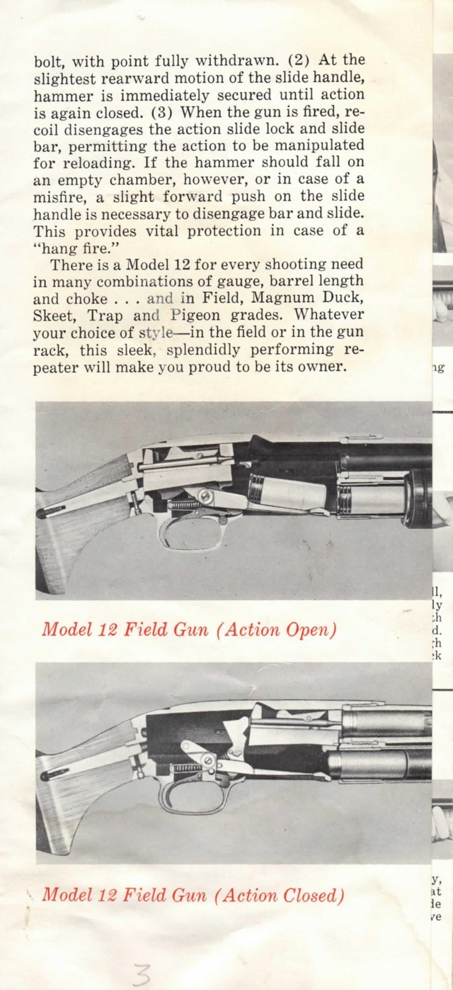 Winchester Model 12 – Manual