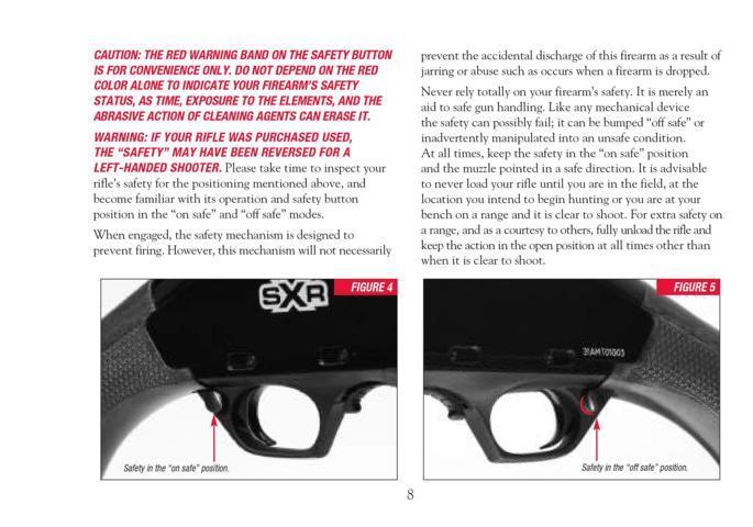 Winchester SXR – Manual