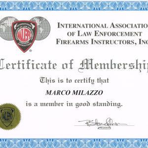 Certificato IALEFI